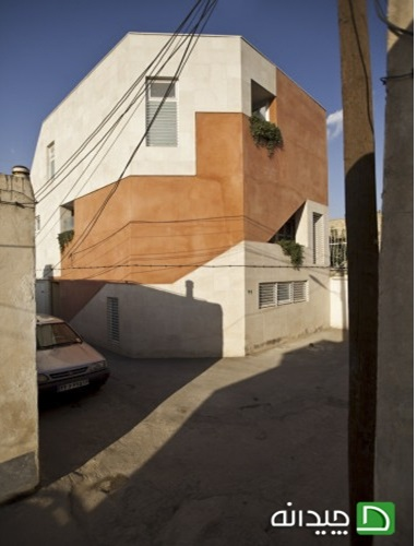پاورپوینت طراحی نمای خانه بید آباد هماهنگ با بافت تاریخی(نمونه مشابه مسکونی)